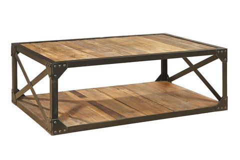 Bleecker Recycled Cocktail Table - Jordans Home