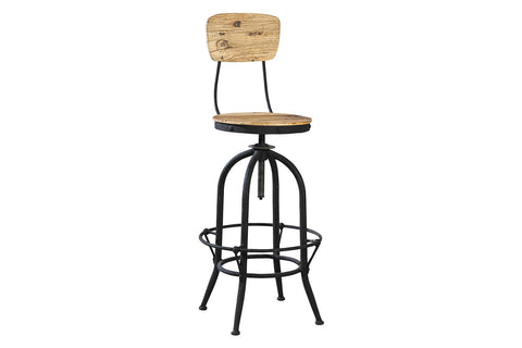 Industrial Bar Stool  | Bar Stool | Jordans Home