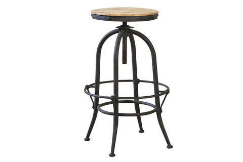 Industrial Backless Stool  | Bar Stool | Jordans Home