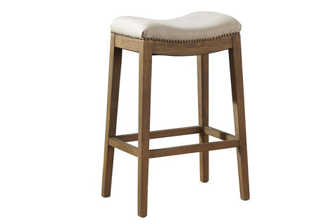 Linen Backless Counter Stool  | Bar Stool | Jordans Home