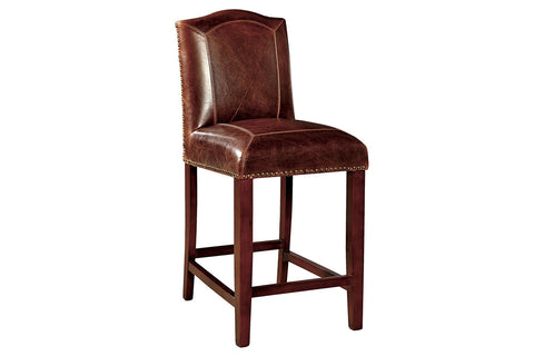 Blake Leather Counter Stool  | Bar Stool | Jordans Home