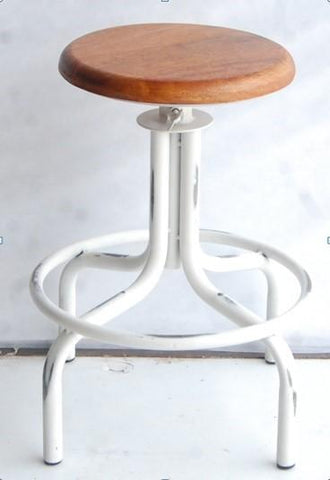 Iron Wood Stool - Jordans Home