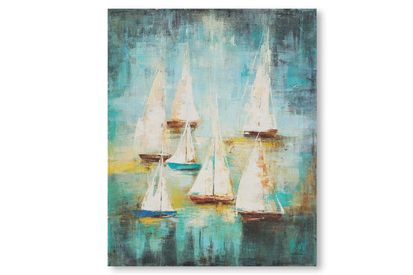 Sail Away II  | Framed Art | Jordans Home