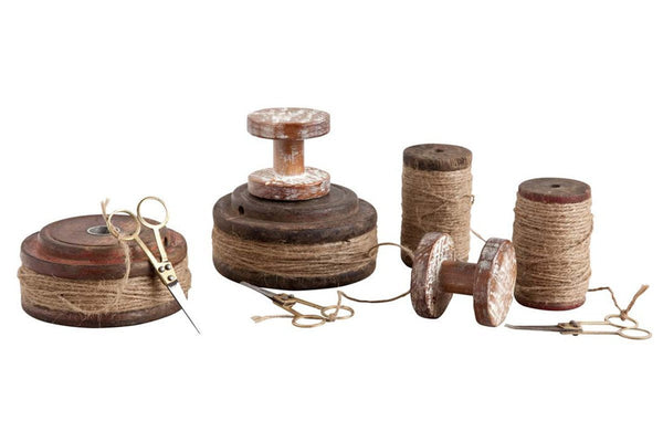 Cornus Antique Spools  | Accessories | Jordans Home