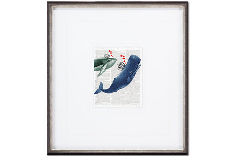 Whale of a Time  | Framed Art | Jordans Home