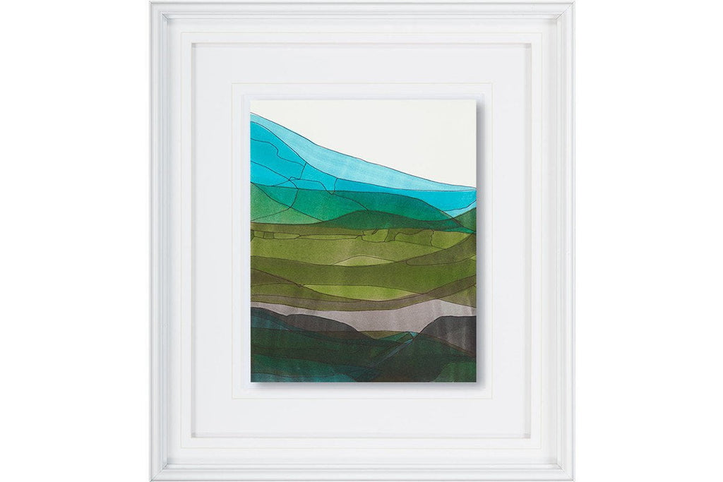 Blue Hills II  | Framed Art | Jordans Home