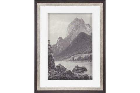 Rocky Mountains - Vintage  | Framed Art | Jordans Home