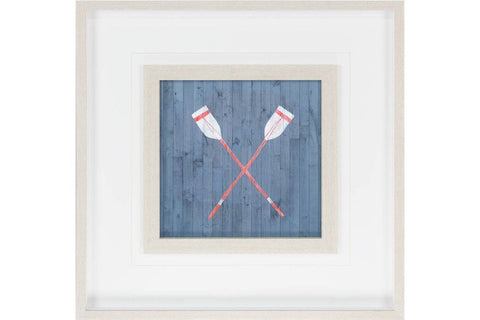 Custom Nautical Plank II Artwork  | Framed Art | Jordans Home