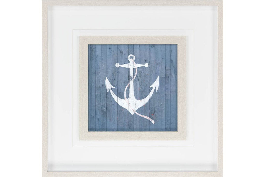 Custom Nautical Plank IV Artwork  | Framed Art | Jordans Home