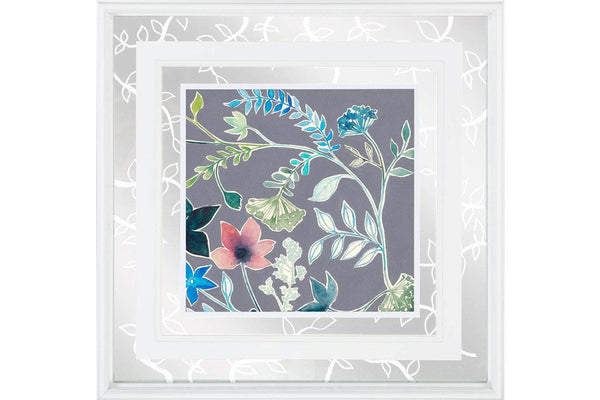 Custom Flower Garland II Artwork  | Framed Art | Jordans Home