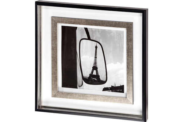 Eiffel Tower Reflection Artwork