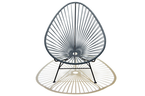 Acapulco Chair - Stone Grey