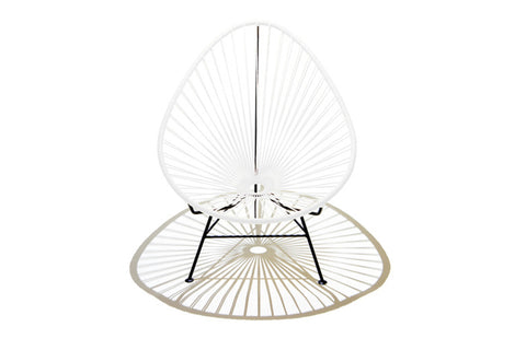 Acapulco Chair - White - Jordans Home
