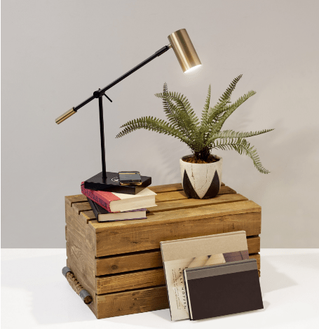 Colette AdessoCharge Desk Lamp - Jordans Home