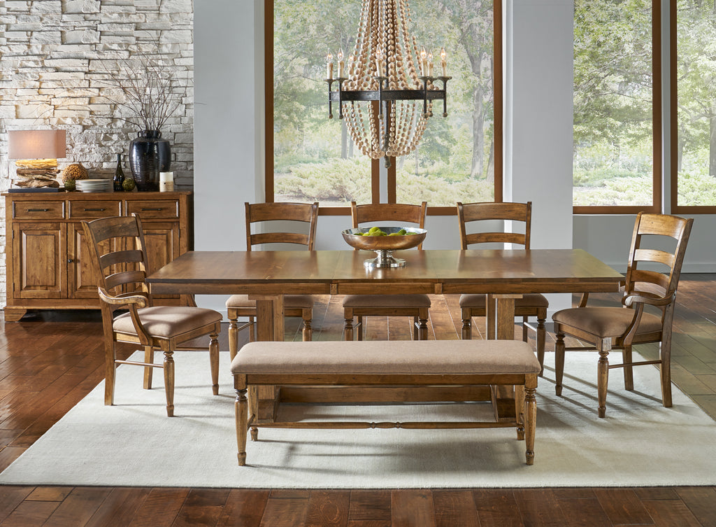 Bennett Trestle Table