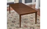 Blue Mountain Leg Table with Butterfly Leaf
