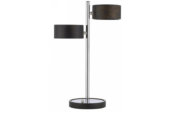 Wood & Chrome Table Lamp  | Table Lamp | Jordans Home