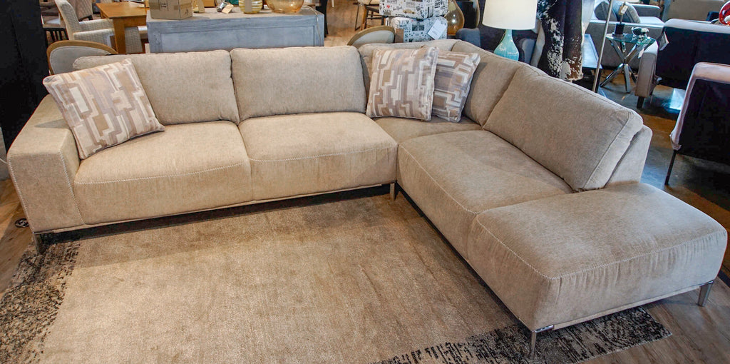 Anzioder Beige Sectional