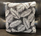Feathers Fabric Toss Pillow - Jordans Home
