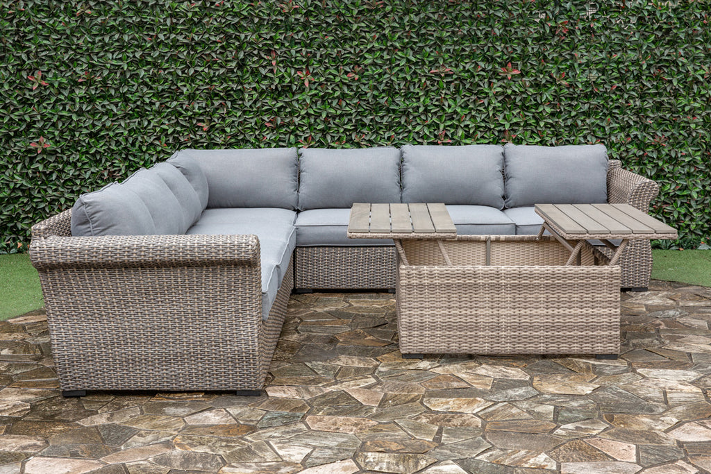 Dade Outdoor Sectional Set