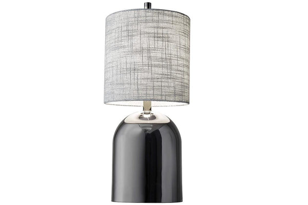 Divine Table Lamp - Black Nickel - Jordans Home