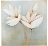 Painting of White Flowers - Jordans Home