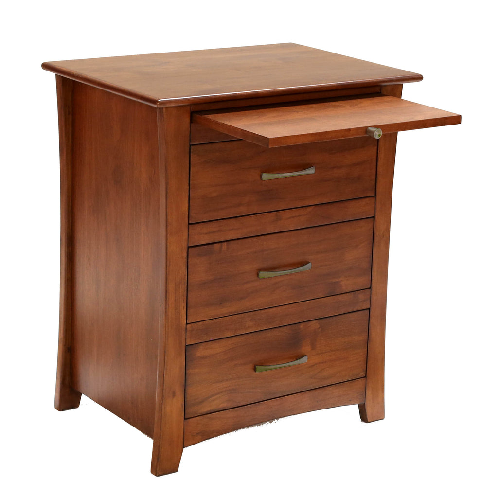 Grant Park 3 Drawer Nighstand - Jordans Home