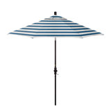 Navy-White Sun Master Umbrella