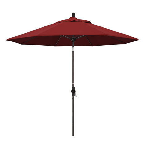 Red Umbrella Pacifica & Bronze Fiberglass