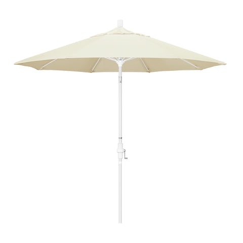 Beige Umbrella Pacifica & White Fiberglass