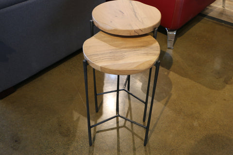 Live Edge Nesting Tables  | Side Table | Jordans Home