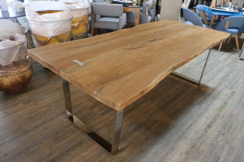 "Jordans Home | 87"" Live Edge Dining Table"