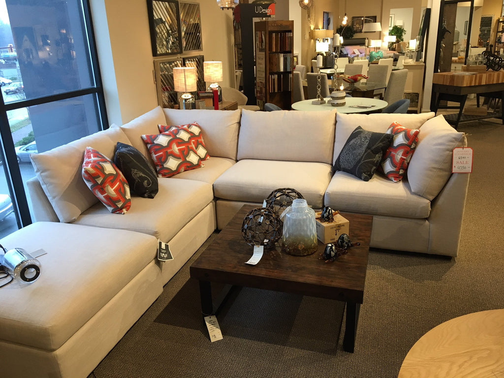 Beckham Sectional - Jordans Home
