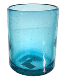 Short Aqua Glass
