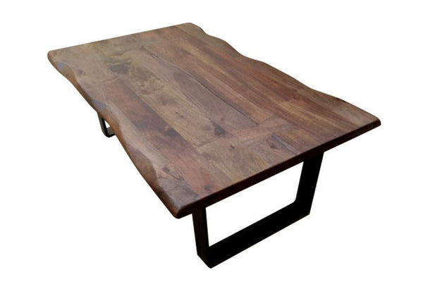 Live Edge Wood Dining Table - Jordans Home