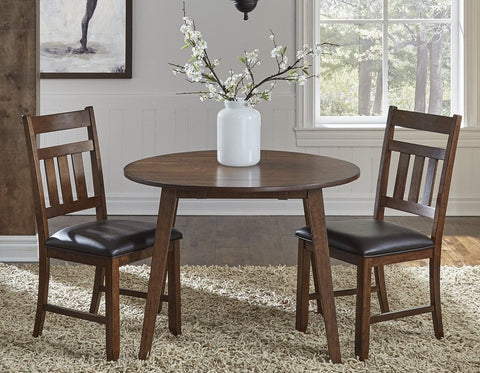 Mason Round Drop Dining Table