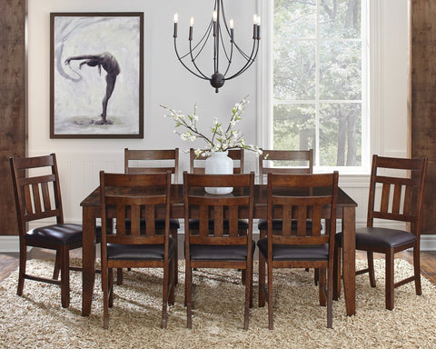 Mason Rectangle Butterfly Dining Table