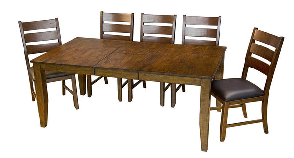 Mason Rectangle Butterfly Dining Table - Jordans Home