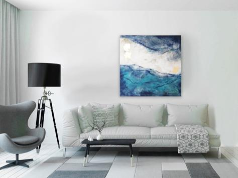 Painting of Waves - Jordans Home