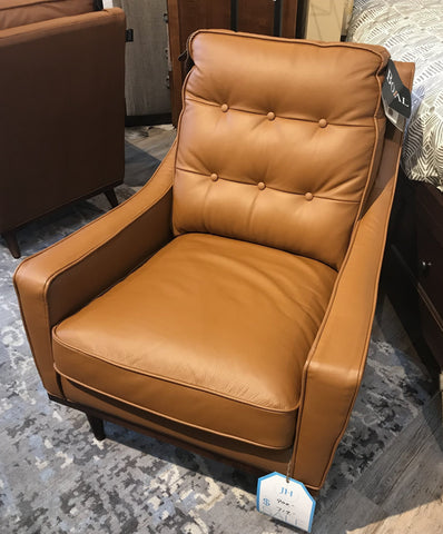 Elko Arm Chair - Caramel - Jordans Home