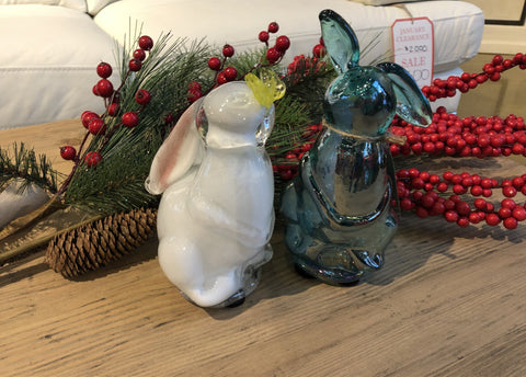 Glass Rabbits