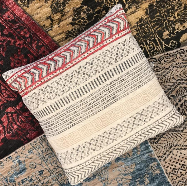Boho Throw Pillow - Nirbhay