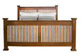 Mission Hill Queen Slat Bed - Jordans Home