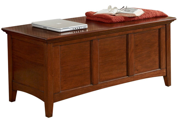 West Lake Blanket Trunk - Cherry Brown  | Bench | Jordans Home