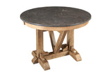 West Valley Blue Stone 44 Inch Round Table  | Dining Table, Table | Jordans Home