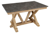 West Valley Blue Stone Trestle Table  | Dining Table, Table | Jordans Home