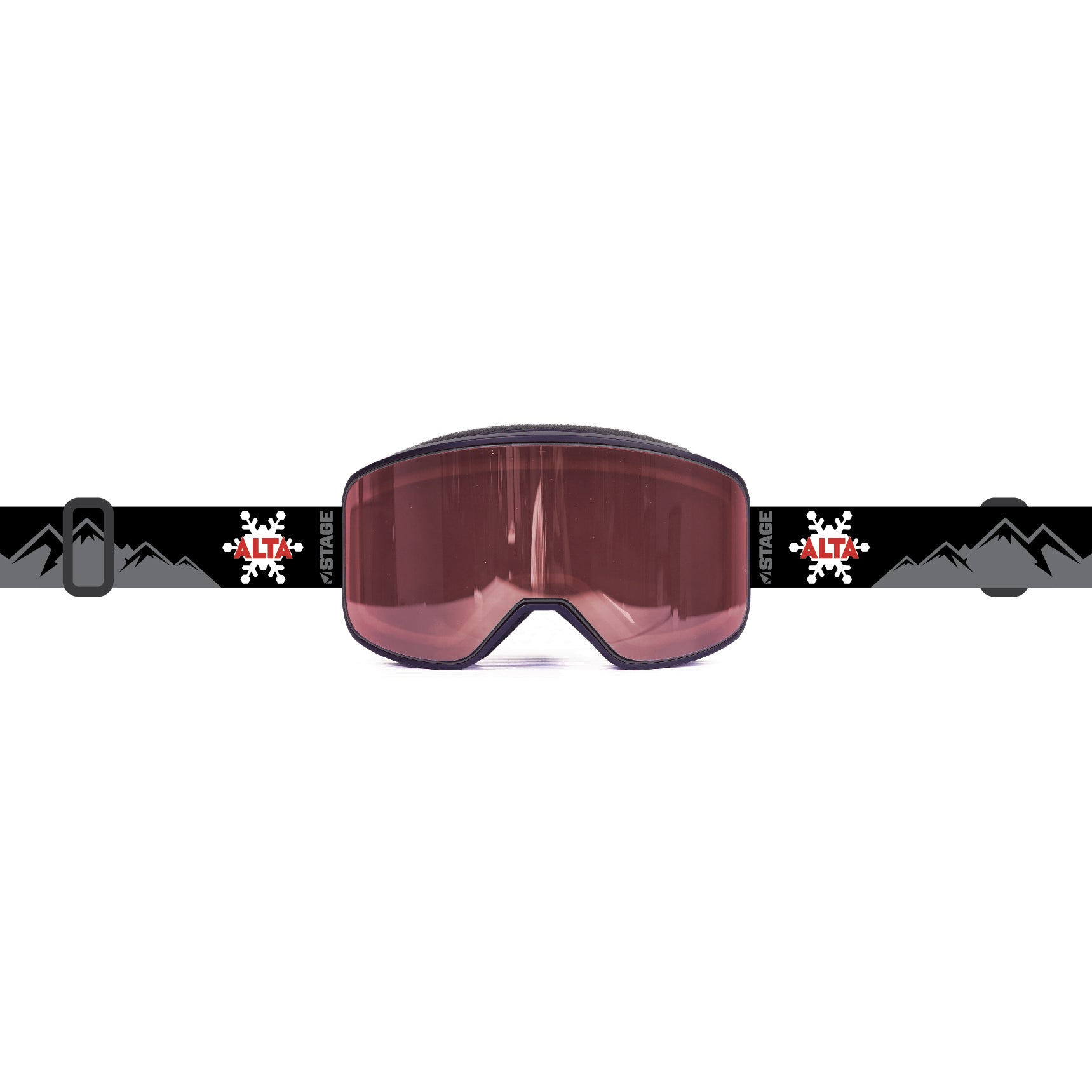 Alta Prop Goggle -  Red Flake Mountains