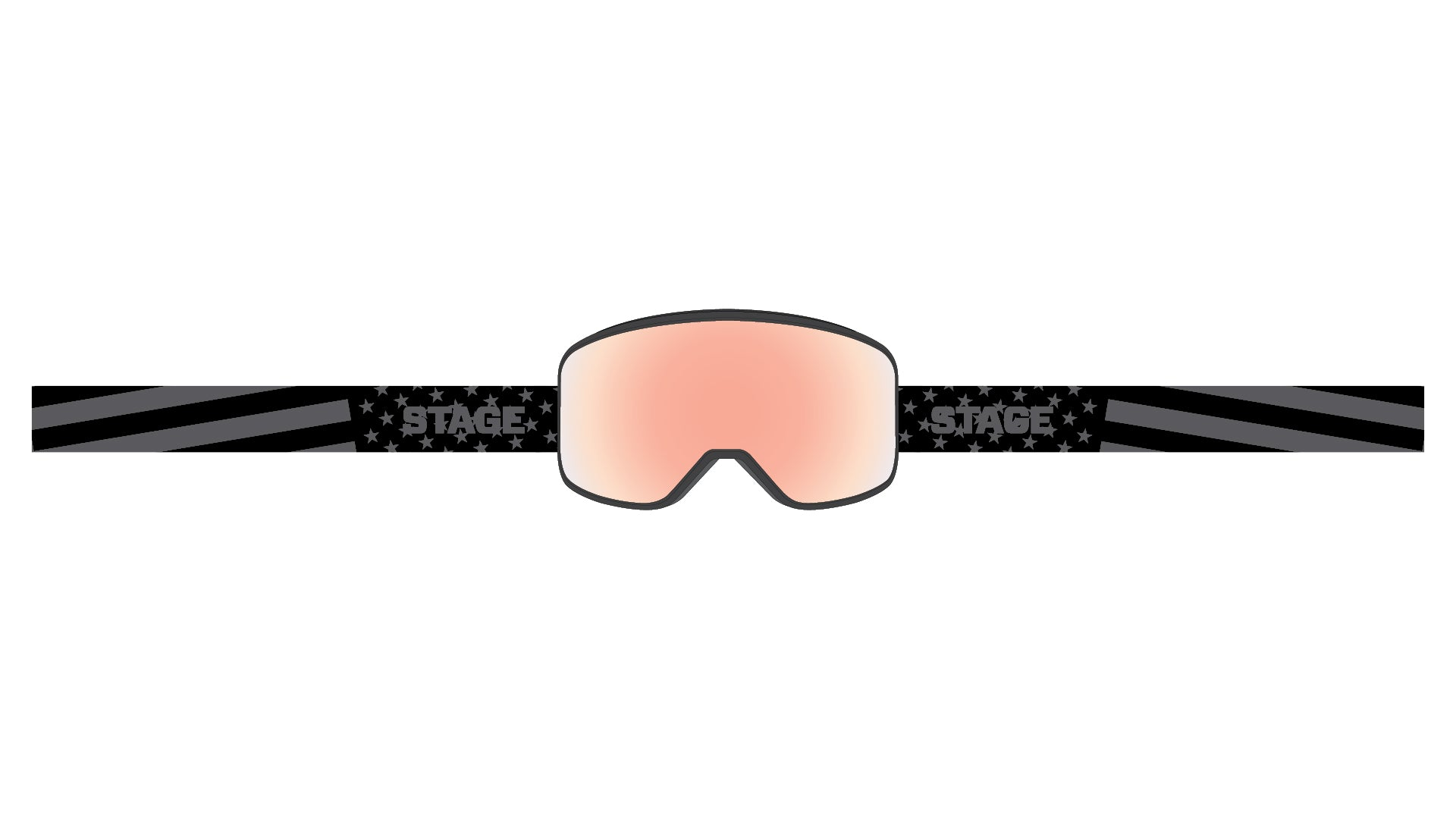 STAGE Prop Goggle - Black Frame / Detector Low Light Lens