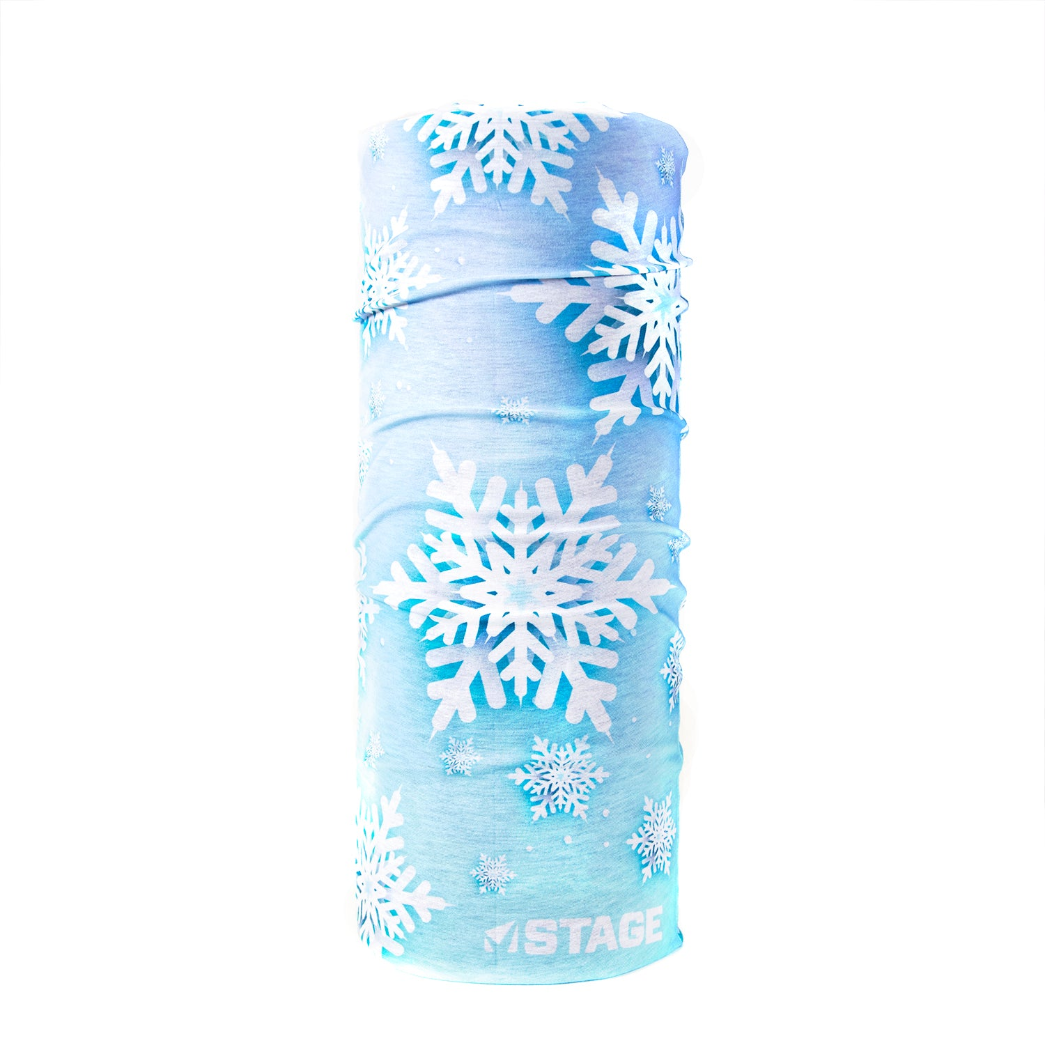 Stage Face Tube - Blue Snow Flake