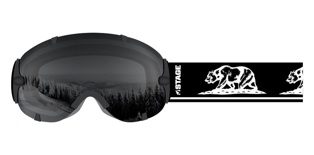 Stunt California Bear Goggle